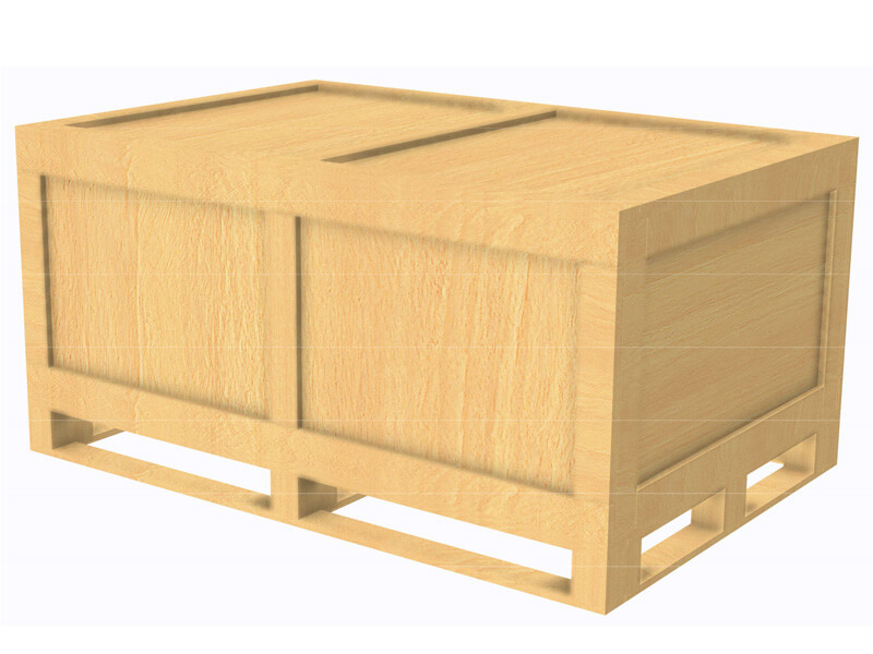 wood packaging timber panel case